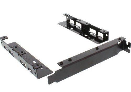 InLine 39950N HDD Slotblech Adapter (2X 6,4 cm (2,5 Zoll) HDD zu PCI-Slot) mit Schrauben
