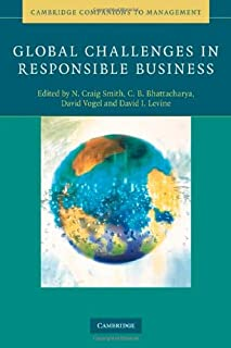 Global Challenges in Responsible Business (Cambridge Companions to Management)