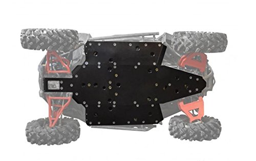 SuperATV Heavy Duty 1/2' ARMW Full Skid Plate for Polaris RZR 900/900 S / 900 XC (2015+) - Full Machine Protection!