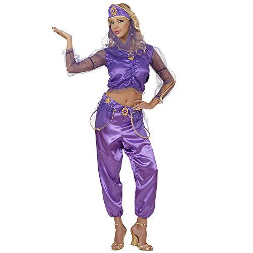 WIDMANN 58221 - Costume da ballerina di danza del ventre Adulto con accessori