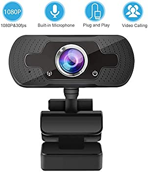 Kingdans 1080P 120Wide-Angle 30fps Webcam With Microphone