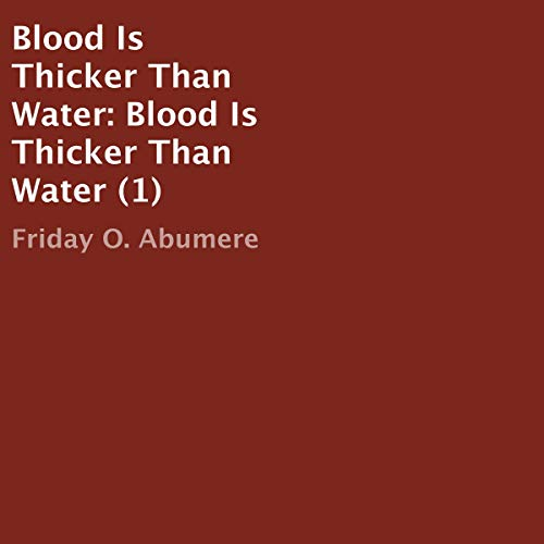 Blood Is Thicker Than Water cover art
