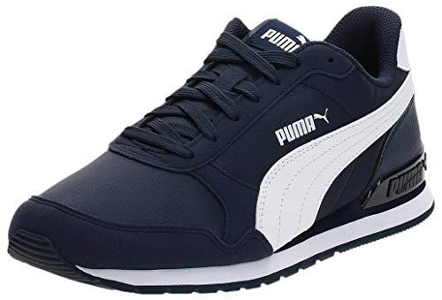 PUMA Unisex-Erwachsene St Runner V2 Nl Sneaker, Peacoat White, 40 EU