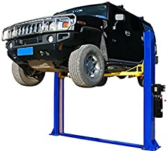 APlusLift HW-10KBP 10,000LB Two Post Floor Plate Auto Hoist Car Lift with Combo..