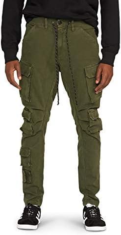HUDSON Jeans Men s Bowlegged Cargo Forest 34 product image