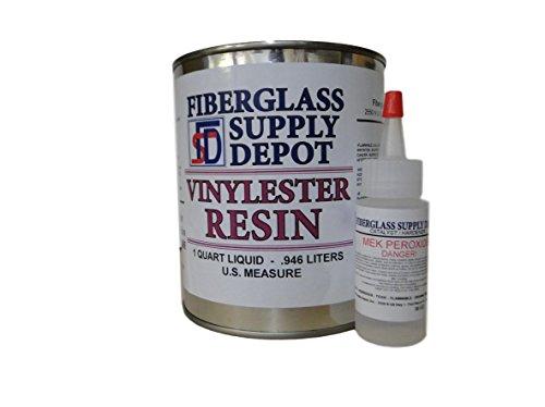 FSD Vinylester Resin Quart with 30cc Hardener (MEKP)