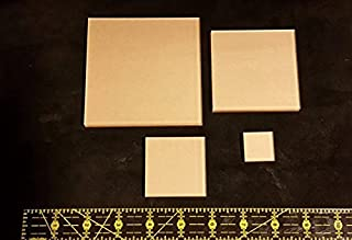 LaserThing Itajime Shibori Square Templates 4