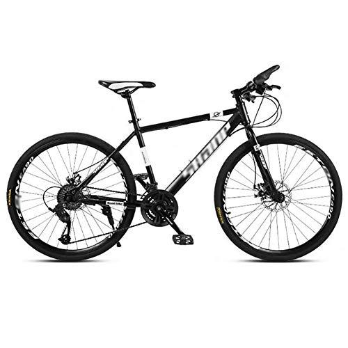 WJJ Bicicleta para Joven Bicicletas De Carretera 24 Velocidad de MTB Camino de la montaña de la Bicicleta de los Hombres de 24/26 Pulgadas Ruedas for Mujeres Adultas Bicicleta Montaña