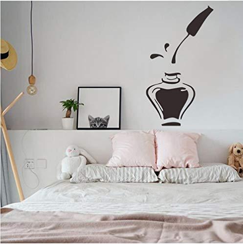 Sticker muursticker muursticker spijkerlak gesneden plakfolie woonkamer slaapkamer spijker glas venster decoratie muursticker