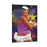 xianbang Ana Ivanovic Poster sur toile Motif joueur de tennis 30 x 45 cm
