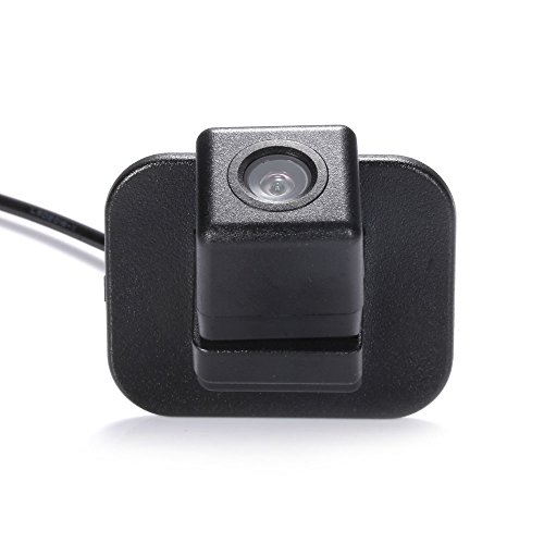 HDMEU Auto Nachtsicht Rückfahrkamera Einparkkamera Kamera Einparkhilfe Farbkamera Rückfahrsystem Einparkkamera Wasserdicht für Mazda 2 (4 Doors) 2016 Mazda CX-3 2016 Mazda 2(5 Doors) 2016