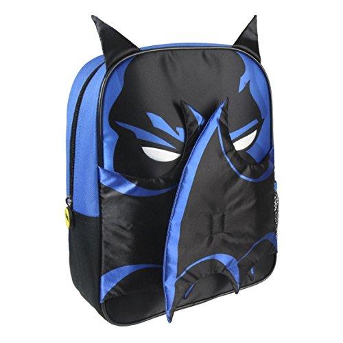 Cerdá Batman Kinder-Rucksack, 31 cm, Blau (Azul)