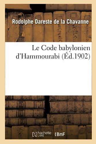 Hammurabi ၏ဗာဗုလုန် Code ကို