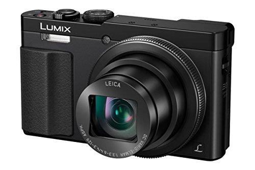 Panasonic Lumix Appareil Photo Compact Zoom Puissant DMCTZ70EFK (Capteur 12MP, Zoom LEICA 30x F3.36.4, Grand angle 24mm, Viseur, Ecran LCD, Vidéo Full HD, Stabilisé) Noir – Version Française