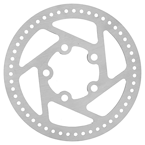 01 Rotor de Freno de Disco, no es fácil de deformar Freno de Disco de 5 Agujeros Fácil de Instalar Novedoso para Scooter eléctrico M365 para modificación de Bicicleta eléctrica