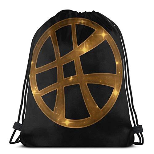 Dott. Strano, simbolo magico, stregoneria, segno, comico coulisse zaino borsa coulisse tote bag borsa a tracolla borsa sportiva, adatto per gite in palestra
