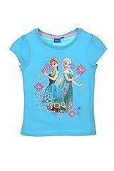 Camiseta Frozen niñas Manga Corta 100% algodón
