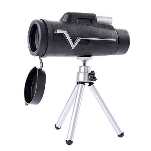 MUYU Telefoon Camera Lens 10X Monoculaire telescoop Waterdicht + Statief Compatibel met iPhone X XS Max XR/8/7/6/6s Samsung Android Outdoor reizen
