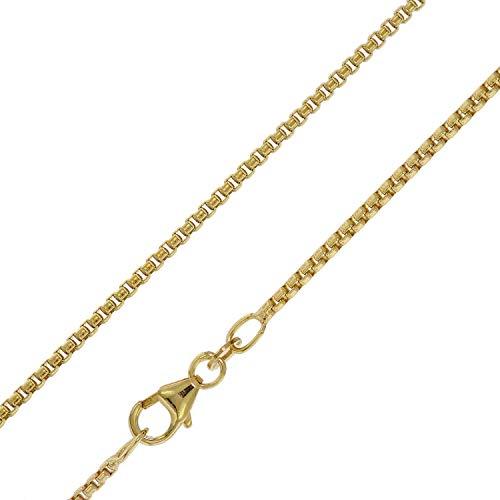 trendor Halskette für Anhänger 333 Gold 8 Karat Venezianer 1,5 mm breit 75155-60 60 cm