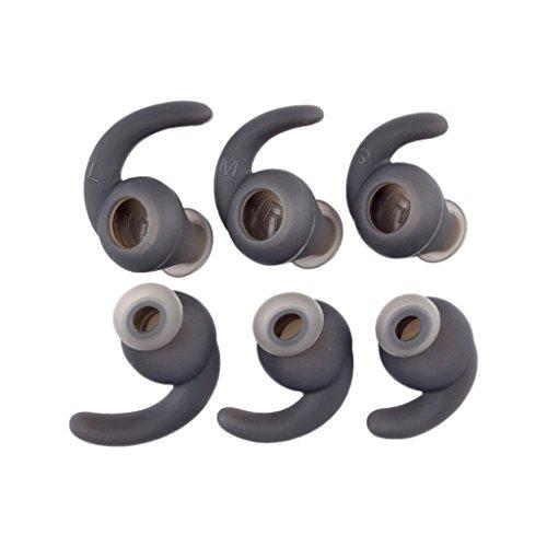 Y-QUARTER 3 pares de capas de fone de ouvido Bluetooth de silicone universal com gancho para fone de ouvido esportivo Bluetooth, acessórios de fone de ouvido externo portáteis
