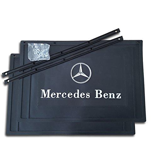 Trupa 2 x Schmutzfänger 400 x 300 / Spritzlappen/Spritzschutz -LKW Anhänger Mercedes