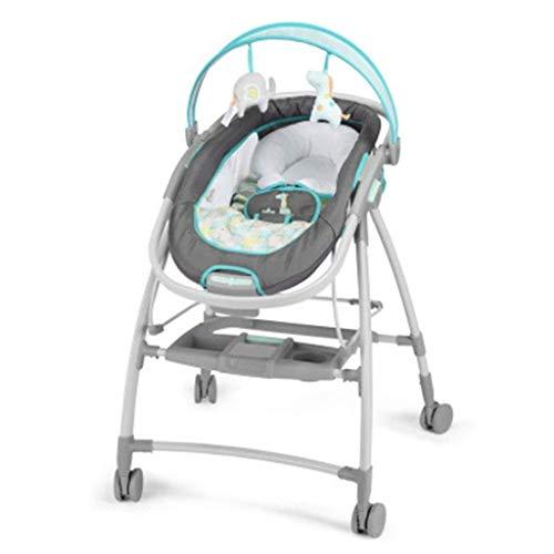 Schommel speelgoed baby-elektrische schommelstoel, twee-in-one hoog landschap mobiele schommelstoel, driedimensionale muziek soothing vibratie sleepy artifact Appease Swing stoel schommel speelgoed