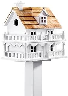 Plow & Hearth 11269 Outdoor Wooden Cape Cod Bird House
