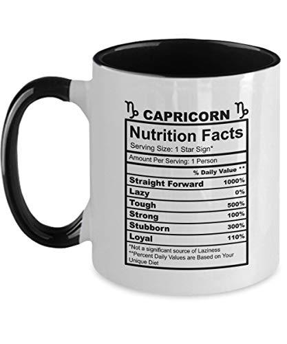 Kaffeebecher, 325 ml, Steinbock, verschreibungspflichtige Kaffeetasse, Geschenk für Steinbock, Geburtstagsgeschenk, Steinbock, SVG, Geburtsstein Steinbock