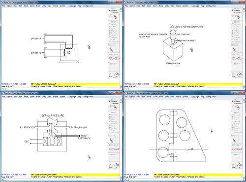 CAD Software for Electrical, Mechanical, Fire Alarm, Floor Plan, Sketch. Use the parts library to quickly make your drawing with an easy to use software, plus tutorial training videos included.
