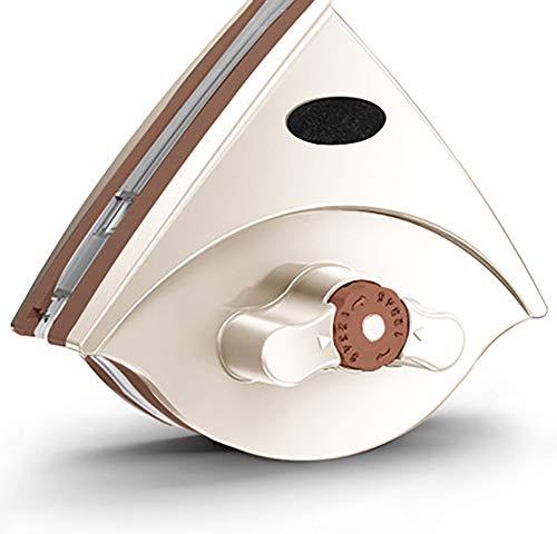 Ventana Limpia del Cepillo, De Doble Cara Magnética Cleaner Limpiador De Cristal Cinco Engranaje De La Fuerza Magnética Ajustable para Ventanas Dobles Espesor Windo Magnética