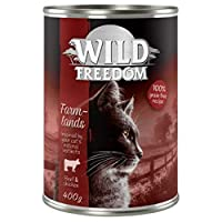 100 % grain-free. Lactose and gluten-free. Excellent source of top quality protein. Gently prepared. Total meat content including lean muscle meat: 98%. Free from artificial preservatives, aromas and colours. This cat wet food is a meat-rich, species...