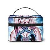 Alexa Bliss - Bolsa de maquillaje para cosméticos, bolsa de