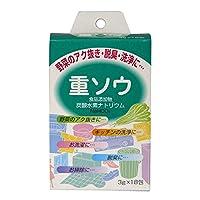 ◆【医薬部外品】健栄製薬炭酸水素ナトリウム(重曹) 3G×18包 【6個セット】