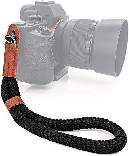 MyGadget Cinturino da Polso per Fotocamera - Cinghia Macchina Fotografica - Laccetto Impugnatura a Mano Regolabile per Canon, Nikon, Sony, Fujifilm, Olympus