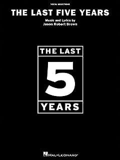 پنج سال گذشته - انتخاب آواز