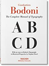 Bodoni: Manual of Typography by Stephan F??ssel (2016-07-15)