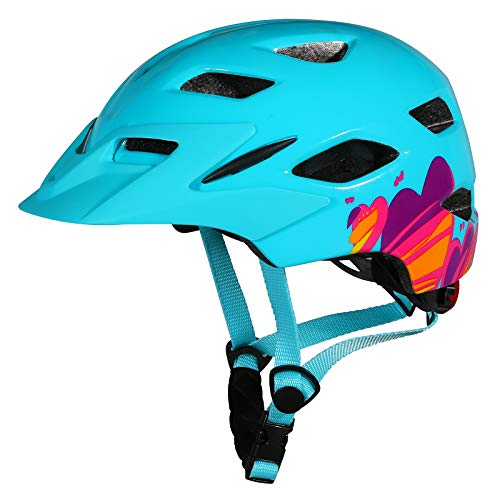 Bilaki Kids Bike Helmet, Multi-Sport Cycling Skating Scooter Lightweight Safety Helmet for Boys Girls, Adjustable from Kids to Youth Size