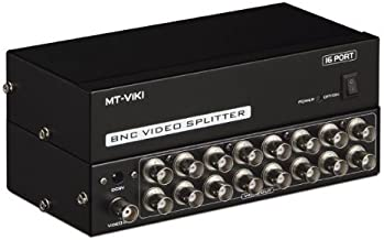 Findway 16 Ports BNC Video Splitter Distribution Amplifier Adapter MT-1016BC