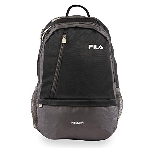 Fila Duel Tablet and Laptop Backpack, Black