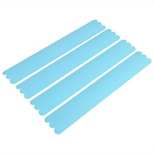 Antislip tape voor de badkamer, antislip strepen, lijm stickers voor badkuip, keramische vloer, gebruikt om je veilig te houden blauw
