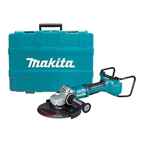 Makita DGA901ZKU1 DGA901ZKU1-Amoladora a batería BL 18Vx2 LXT 230mm SAR AWS Puño antivibración, Multicolore
