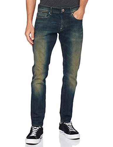 G-STAR RAW Herren Skinny Jeans Revend, Antic Blight Green C051-B814, 29W / 32L