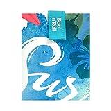 Roll'eat - Boc'n'Roll Young - Bolsa Merienda Porta Bocadillos Ecológica y Reutilizable sin BPA, Surf