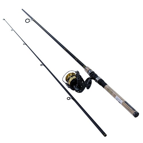 Daiwa DSK30-B/F702M D-Shock Reel & Rod Combo 7' Medium Action, Black/Gold