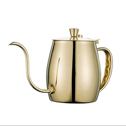 Cxmm Handgebrühter Beutel Kaffee seit langem im Mund schlanker Edelstahl-Tropfbeutel Kaffee Budget 700 ml (Farbe: D)