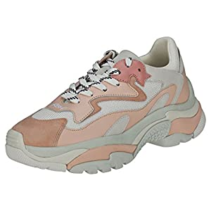 6d3d13f7f23ade Ash , Plateforme Femme - Rose - Blanc/Rose, 41: Amazon.fr: Chaussures et  Sacs