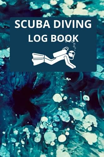 Scuba Diving Log Book: Ocean Art Waves Scuba diving Log Book