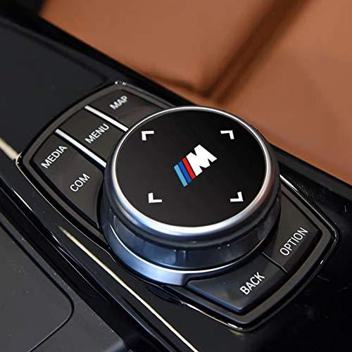 MAXDOOL 1 x Blende für BMW 1 2 3 4 5 6 7 Serie X3 X4 X5 X6 M2 M4 M5 Mittelkonsole iDrive Multimedia Controller Regler.