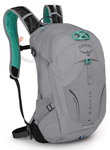 Osprey Sylva 12 Women's Bike Hydration Backpack, Downdraft Grey