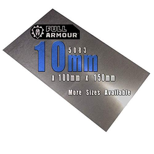 Piastra in alluminio 5083, spessore 10 mm